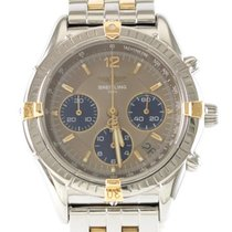Breitling B30012 Gold/Steel 1996 Chrono Cockpit 37mm pre-owned