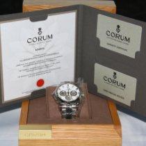 Corum Admiral's Cup Challenger nuevo Automático Cronógrafo Reloj con estuche original 986.691.11/F371 AA92