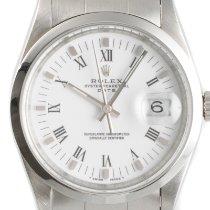 Rolex Oyster Perpetual Date Сталь 34mm Белый