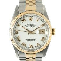 Rolex Datejust 16233 Muy bueno Acero y oro 36mm Automático