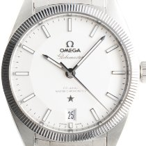 Omega Globemaster Steel 39mm Silver