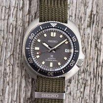 Seiko Prospex Steel 42.7 mmmm Grey No numerals
