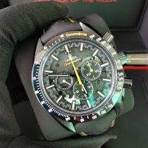 歐米茄 Speedmaster Professional Moonwatch 碳 44.25mm 黑色 無數字