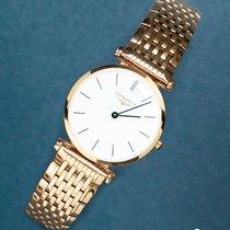 Longines Rose gold Quartz White 24mm new La Grande Classique