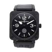 Bell & Ross BR 01-92 BR0192-10TH-CE Muy bueno Cerámica 46mm Automático