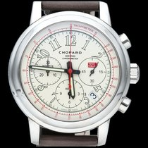 Chopard nieuw Automatisch Glasbodem Lichtgevende indexen Chronometer Limited edition 42mm Staal Saffierglas