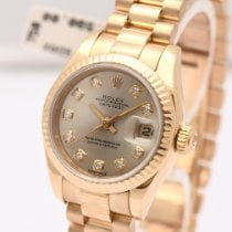 Rolex Lady-Datejust 179178 Very good Yellow gold 26mm Automatic