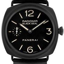 Panerai Radiomir Black Seal Keramiek 45mm Zwart Arabisch