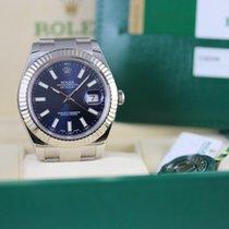 Rolex Datejust II Acier 41mm Bleu Sans chiffres France, Cannes