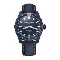 Ulysse Nardin Steel Automatic 8163-175LE/93-BLUESHARK new