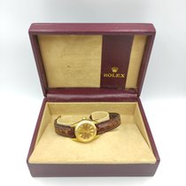 Rolex Oyster Perpetual Yellow gold Champagne No numerals