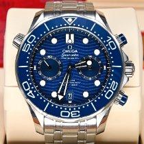 歐米茄 Seamaster Diver 300 M 鋼 44mm 藍色 無數字