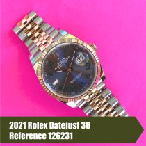 Rolex Datejust Gold/Steel 36mm Grey No numerals United States of America, Florida, Coral Gables