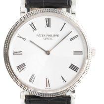 Patek Philippe Calatrava White gold 35mm White