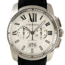 Cartier Calibre de Cartier Chronograph Stahl 45mm Silber Deutschland, Karlsruhe