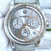 Audemars Piguet Code 11.59 White gold 41mm Silver Arabic numerals