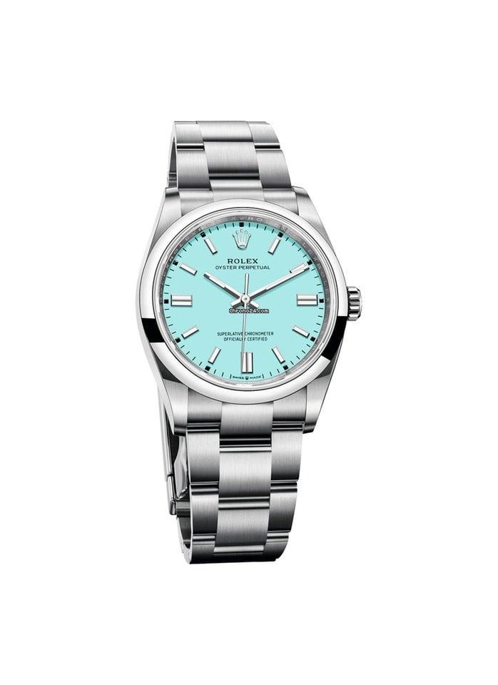 Rolex Oyster Perpetual 124300-0006 2021 новые