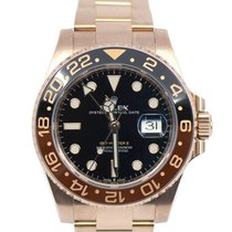 Rolex 126715CHNR-0001 Rose gold 2018 GMT-Master II 40mm pre-owned United States of America, New York, New York