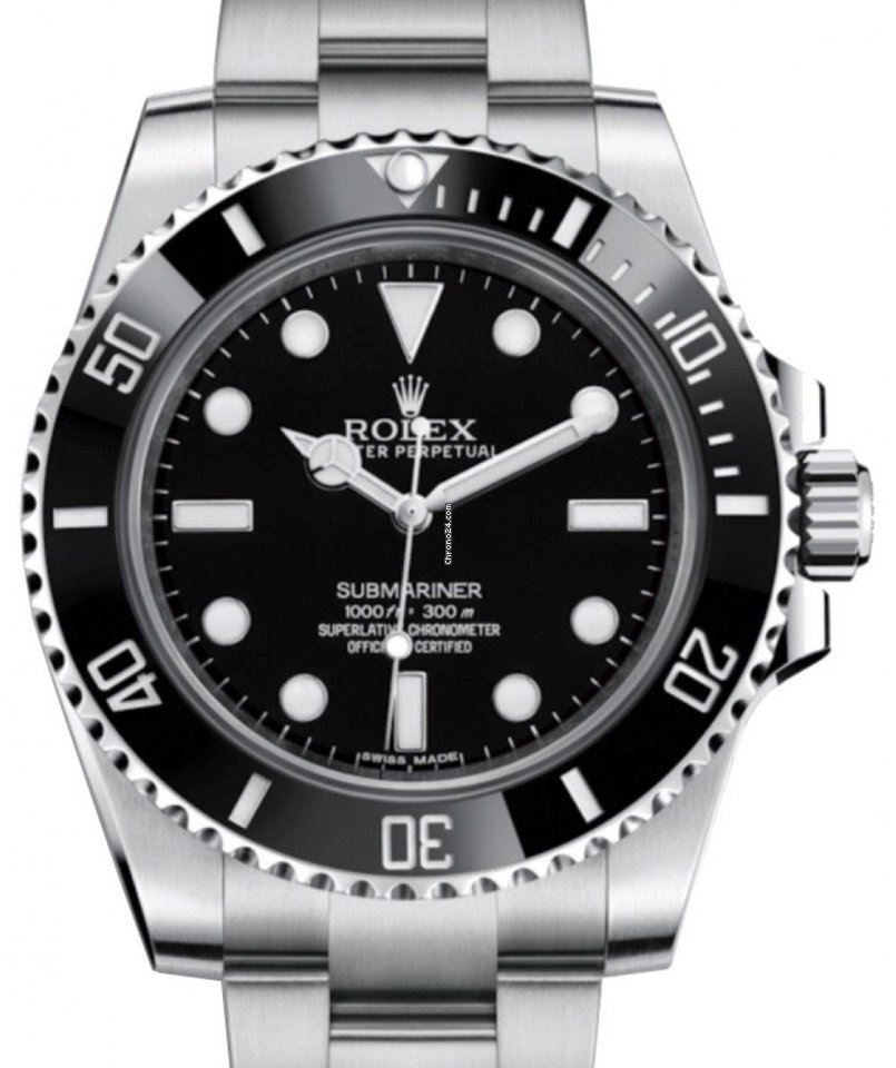 Rolex Submariner (No Date) 124060 2021 новые