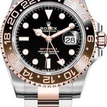 Rolex GMT-Master II Gold/Steel 40mm Black No numerals United States of America, Illinois, Chicago