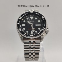 Seiko Prospex Steel 42mm Black No numerals United Kingdom, Reading
