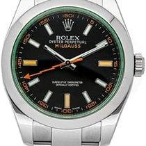 Rolex 116400GV Steel 2021 Milgauss 40mm new