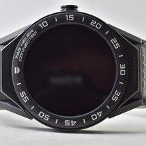 TAG Heuer Connected подержанные 45mm Черный Хронограф Кожа