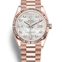 Rolex Day-Date 36 Rose gold 36mm Mother of pearl No numerals United States of America, Illinois, Chicago