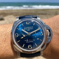 Panerai Luminor 1950 8 Days GMT Titanium 47mm Blue Arabic numerals United States of America, Florida, Fort Lauderdale