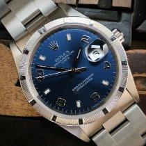 Rolex Oyster Perpetual Date Acero 34mm Azul Sin cifras España, Madrid