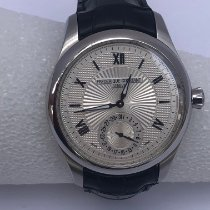 Frederique Constant Manufacture Steel 46.3mm Silver United States of America, Florida, West Palm Beach