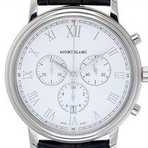 Montblanc Tradition Steel 42mm White