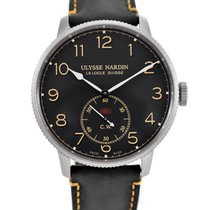 Ulysse Nardin Marine Torpilleur Steel 44mm Black