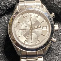 Omega Speedmaster Date Steel 39mm Silver No numerals United States of America, Pennsylvania, Pittsburgh