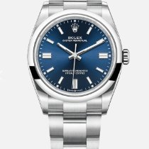 Rolex Oyster Perpetual 36 Steel 36mm Blue No numerals Malaysia