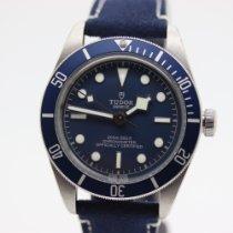 Tudor Black Bay Fifty-Eight Stahl Blau Keine Ziffern