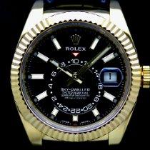 Rolex Sky-Dweller Gelbgold 42mm Schwarz Schweiz, Geneva