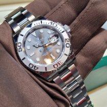 Rolex Yacht-Master 40 Stahl 40mm Grau Keine Ziffern Schweiz, Geneve