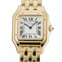Cartier Panthère Yellow gold 27mm Silver Roman numerals United States of America, New York, New York
