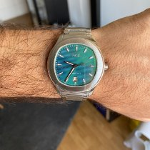 Piaget Polo S pre-owned 42mm Green Steel