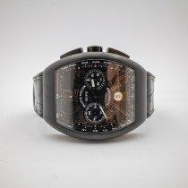 Franck Muller Vanguard Titanium 53.7mm Black