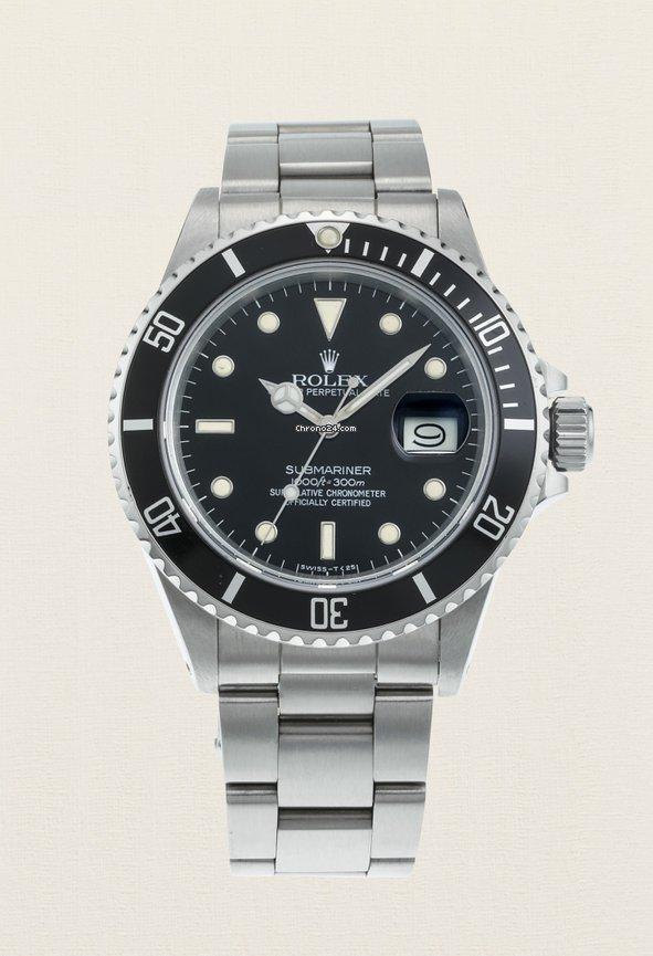 Rolex Submariner Date 16800 1986 rabljen