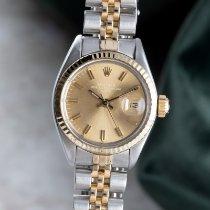 Rolex 6917 Gold/Stahl 1978 Lady-Datejust 26mm gebraucht Deutschland, Chemnitz