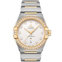 Omega Silver Automatic Silver new Constellation