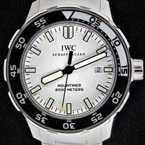 IWC Aquatimer Automatic 2000 Сталь 44mm Белый