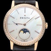 Zenith Elite Or rose 36mm Nacre Sans chiffres