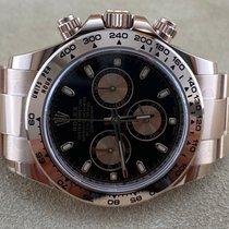 Rolex Daytona Oro rosa 40mm Nero Senza numeri Italia, monsummano terme