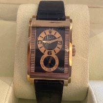 Rolex Cellini Prince Ροζέ χρυσό Μαύρο