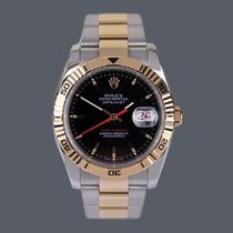 Rolex 116261 Gold/Steel 2005 Datejust Turn-O-Graph 36mm pre-owned