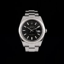 Rolex Datejust 126334 Odlično Zeljezo 41mm Automatika